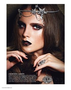 a fine excess: dolores doll by max abadian for flare december 2012