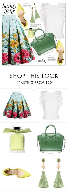 """""""Happy Hour"""" by duma-duma ❤ liked on Polyvore featuring 3.1 Phillip Lim, Chloé, Givenchy, Jessica Simpson and Atelier Mon"""