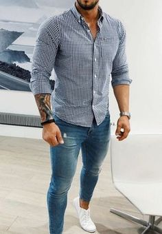 I like the outfit! Formal Men Outfit, Outfits Casual, Casual Wear For Men, Stylish Mens Outfits, Mode Outfits, Summer Outfits, Mode Masculine, Suit Fashion, Mens Fashion