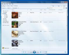 Windows Media Player 12 screen shot