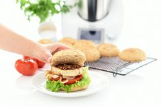 Cooking With Kids, Salmon Burgers, Brunch, Veggies, Healthy Recipes, Meals, Chicken, Breakfast, Ethnic Recipes