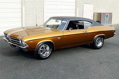 1969 Chevelle SS396.  My first car, only in the ugliest color of green you have ever seen.