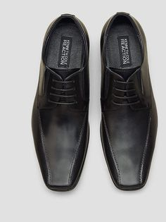Bro-tential Leather Oxford, BLACK