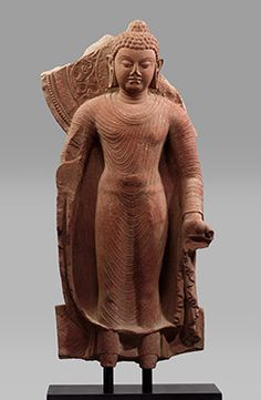 Spread of Buddhism- Standing Buddha Offering Protection