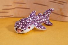 Whale shark polymer clay totem by lifedancecreations on DeviantArt
