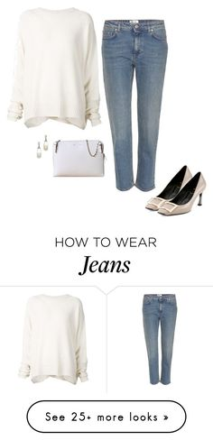 """Untitled #268"" by inlateautumn on Polyvore featuring Roger Vivier, URBAN ZEN, CÉLINE and Acne Studios"