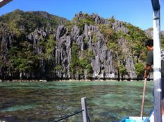 Small Lagoon on Minuloc Island near El Nido, Palawan, Philippines