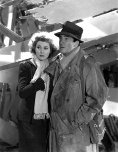 Greer Garson and Walter Pidgeon in 'Mrs. Miniver' (1942)