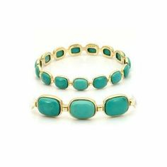 Heidy's Oval Turquoise Studded Gold Bracelet Fantasy Jewelry Box. $57.95. Oval Shape. 14K Gold Electroplated. .925 Sterling Silver. Turquoise. Genuine Turquoise Stone