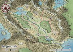 Daggervale Regional Map by Araknophobia.deviantart.com on @deviantART