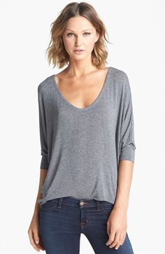 Splendid Dolman Sleeve Top