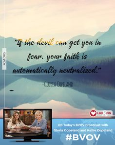 What is your first response when a trial comes? Watch Gloria Copeland and Kellie Copeland on Believer's Voice of Victory as they share the importance of keeping your eyes on Jesus and refusing to fear in the midst of trials.