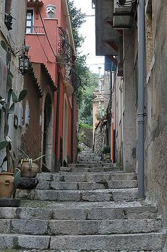 Sicile, Taormine, centre ville,