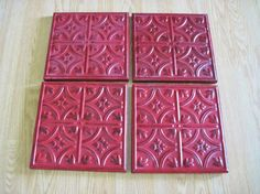 Decorative Tiles To Hang Ceramic Hand Painted Decorative Tiles Set Of 8Crystalcoaster
