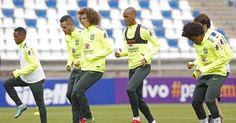 Lesionados, David Luiz e Marcelo Grohe são cortados da seleção e não enfrentam a Venezuela - Esportes - R7 Futebol