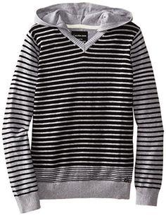 CK Stripe Sweater | Calvin Klein | $26