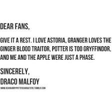 I ship Dramione but had to pin in for the last line haha