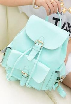 Casual College Style Mint Green Backpack ,cheap Fashion Backpacks - Fashion Bags online shopping,Casual College Style Mint Green Backpack is suitable for leisure occassion such as shopping, small gathering Green Backpacks, Stylish Backpacks, Cute Backpacks, School Backpacks, Leather Backpacks, Leather Bags, Leather Purses, Leather Handbags, Cheap Fashion