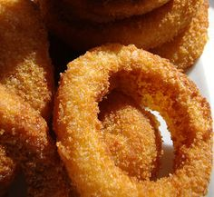 Deep Fried Onions Rings are delicious with just about anything! You could replace the bread crumbs with Panko coating if you like. Maybe double the recipe, I am sure everyone will want seconds of these yummy onion rings.