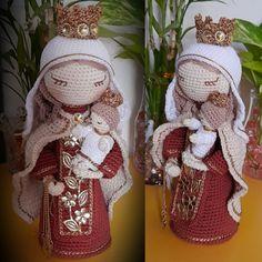 Santa Ornaments, Children, Crochet Animal Amigurumi, Diy And Crafts, Crochet Dolls, Watercolor Painting, Tutorials, Young Children, Boys