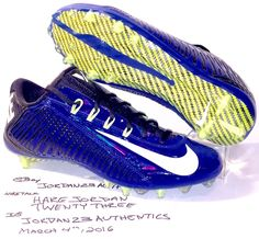 $150 NIKE VAPOR CARBON 2.0 FOOTBALL CLEATS BLUE WHITE Rugby Lacrosse Cleats