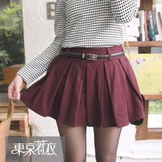 Pleated Skort from #YesStyle <3 Tokyo Fashion YesStyle.ca