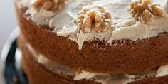 Coffee and Walnut Layer Cake