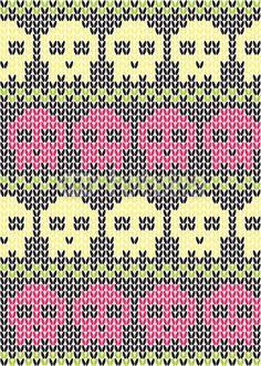. Knitting Charts, Knitting Socks, Knitting Stitches, Hand Knitting, Knitting Patterns, Filet Crochet, Crochet Motif, Crochet Yarn, Loom Patterns