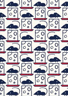 pattern by Minakani #mouse #minakani