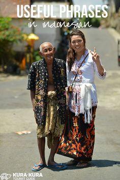 Useful Bahasa Phrases bali language Bali Travel Guide, Asia Travel, Lombok, Indonesian Language, Bali Baby, Thailand, Voyage Bali, Bali Honeymoon, Malaysia