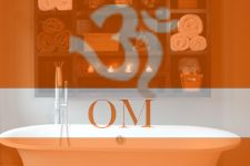 Om mystically embodies the essence of the entire universe.
