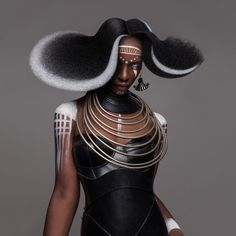 Lisa Farrall 'Armour' hair collection shot by me.Styling: a c:studioMakeup: Suhyun Kang-EmeryCollection nominated for the final of British Hairdresser of the Year Award Afro category and earned Lisa 3 Black Hair