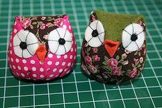 Simple owl sewing tutorial