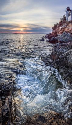 People have been drawn to the rugged coast of Maine throughout history. Awed by its beauty and diversity, early 20th-century visionaries donated the land that became Acadia National Park. The park is home to many plants and animals, and the tallest mountain on the U.S. Atlantic coast. Today visitors come to Acadia to hike granite peaks, bike historic carriage roads, or relax and enjoy the scenery.Photo of Bass Harbor Head Light: Kristi Rugg (NPS)