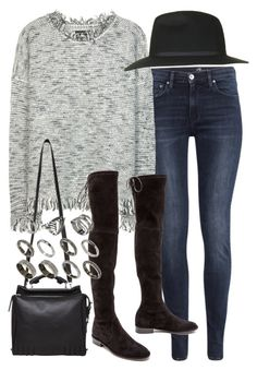 """""""Untitled #17782"""" by florencia95 ❤ liked on Polyvore featuring мода, H&M, Isabel Marant, Stuart Weitzman, Topshop, 3.1 Phillip Lim и ASOS"""