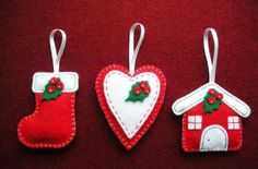 love christmas tree ornaments - Google Search