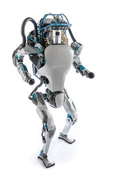 You might call this the Energizer Bunny of the robot world.