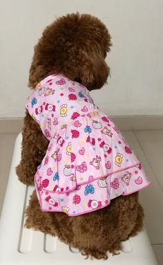 3 HappyPuppy Cozy Cotton Dog Dress Dog Clothes Dog Shirt--Pinky Fruit >>> For more information, visit now : dog clothes