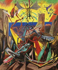 André Masson, Reunion d'insectes, 1936
