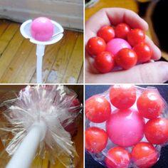 más y más manualidades: Crea flores de dulces para centros de mesa