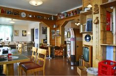 Kusfors cafe in Norsjö Västerbotten Sweden