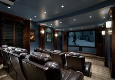 From rustic leather to modern fabrics, discover the top 70 best home theater seating ideas. Explore movie room furniture layouts and designs. Best Home Theater, Home Theater Design, Home Theater Seating, Home Cinema Room, Home Theater Rooms, Small Home Theaters, Media Room Design, Home Bar Designs, Home Cinemas