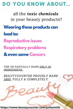 """An estimated 75 to 90 per cent of cosmetics contain parabens, which have also been detected in human breast cancer tissues.""  ""Some 3,000 chemicals are used as fragrances, the majority of which have not been tested for toxicity.""  #gogreenmamas #beautycounter #betterbeauty #toxinfreebeauty Clean Beauty, Diy Beauty, Beauty Skin, Skin Tips, Skin Care Tips, Non Toxic Makeup, Best Natural Skin Care, Love Tips, I Am Awesome"