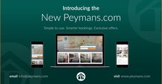 We are delighted to announce that after months of negotiation, we have now acquired www.peymans.com and launched our brand new website!  Just in time for autumn, our refreshed website offers a more modern appearance to complement our beautiful range of accommodation, alongside a smarter and easier-to-use booking system to help make your stay with us simple and effortless.  Visit www.peymans.com to experience the new Peymans!