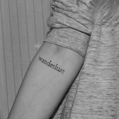 Pin for Later: 17 Typewriter-Font Tattoos For the Girl Who Has a Way With Words