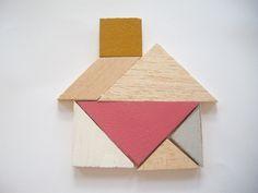 tangram house