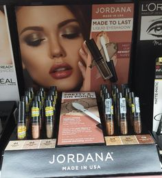 Spotted at Walgreens: NEW Jordana Sweet Cream Matte Liquid Lipsticks and Made to Last Liquid Eyeshadows | Nouveau Cheap
