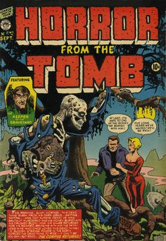 Cover for Horror from the Tomb (Premier Magazines, 1954 series) #1