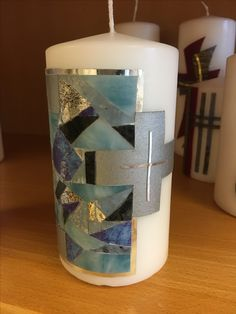 #Trauer #Allerheiligen #Grab Candle Art, Pillar Candles, Candles, All Saints Day, Embellishments, Pictures, Taper Candles