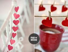 read more pretty ideas for valentines...red heart wedding decoration ideas,valentine wedding